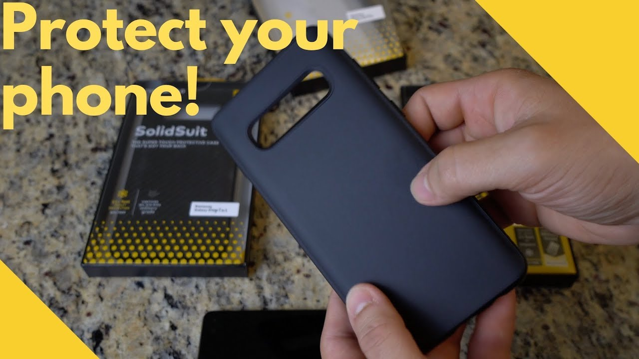 Best Cases For The Galaxy S10 S10 S10e Youtube