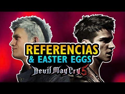 Easter Eggs y Referencias en Devil May Cry 5 [Demo]