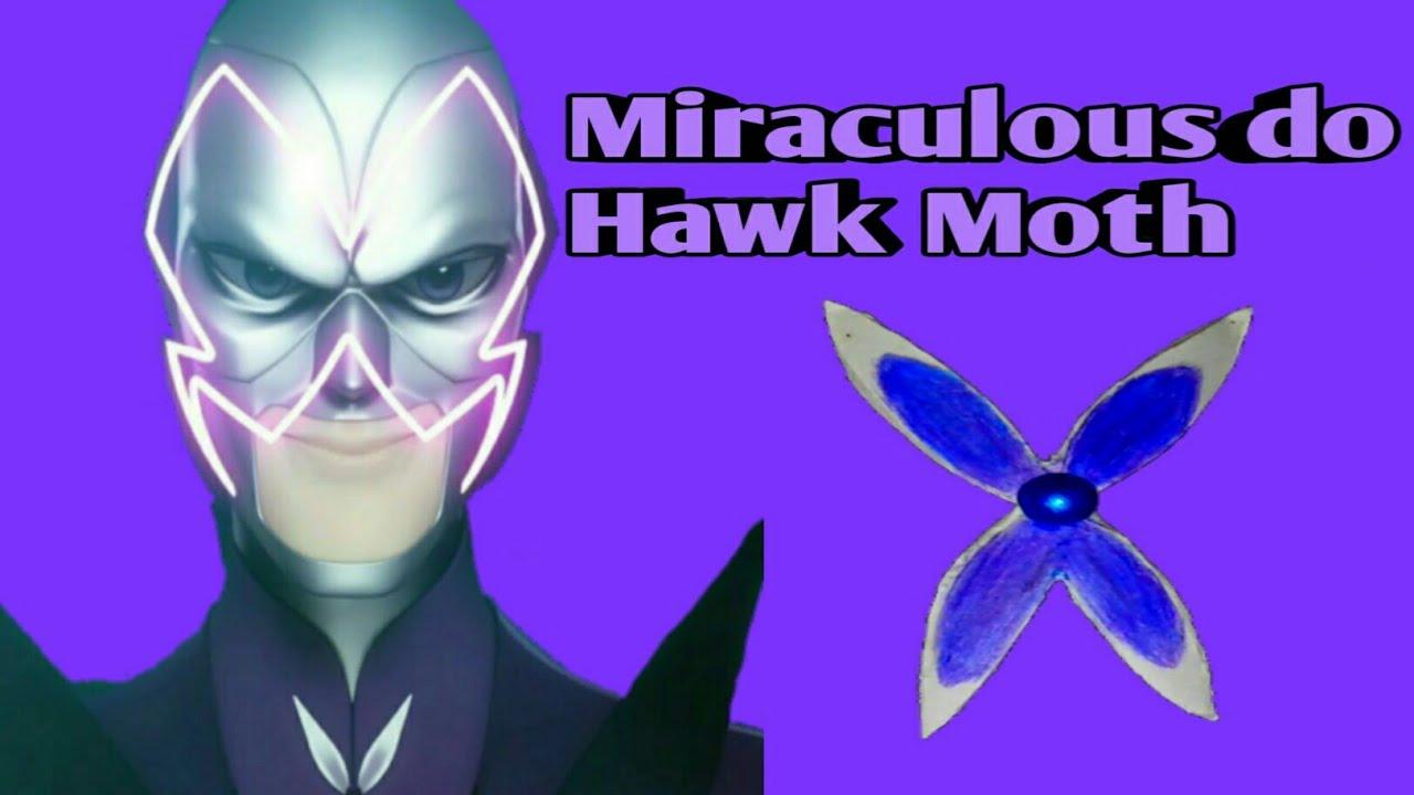 diy como fazer o miraculous do hawk moth mundo erika