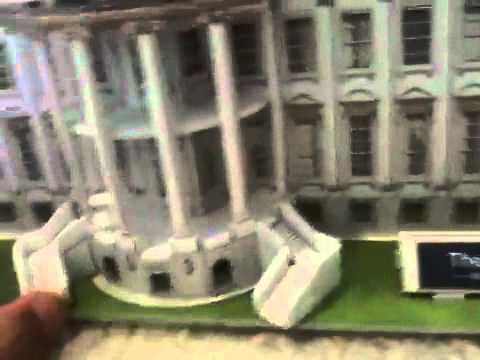 Architecture white house model