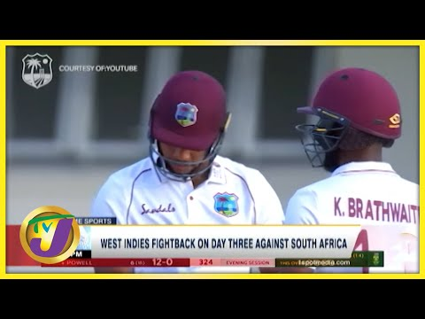 West Indies Fight Back Against South Africa - June 20 2021