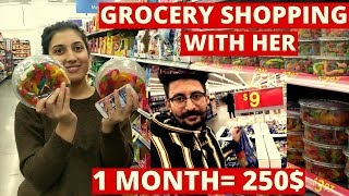 Grocery Shopping Expenses in Canada | Grocery Cost & Save Money | Punjabi Vlogger