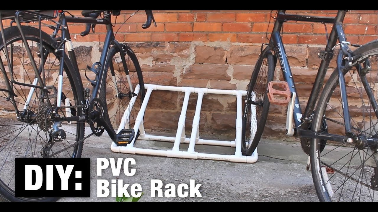 Diy Pvc Bike Rack How To Build In Steps The Home Depot Canada