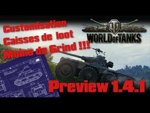 World of Tanks - Preview 1.4.1 -  Grind plus rapide !!! thumbnail