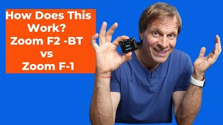 How Does This Work? Zoom F2 -BT vs Zoom F-1 Field Recorder