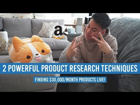2 POWERFUL Amazon FBA Product Research Techniques! Finding $30,000/Month Products LIVE!