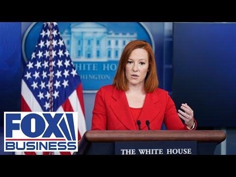 White House press secretary Jen Psaki holds a briefing | 10/22/21