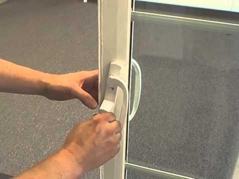 Atrium 312 Patio Door Handle Assembly Youtube