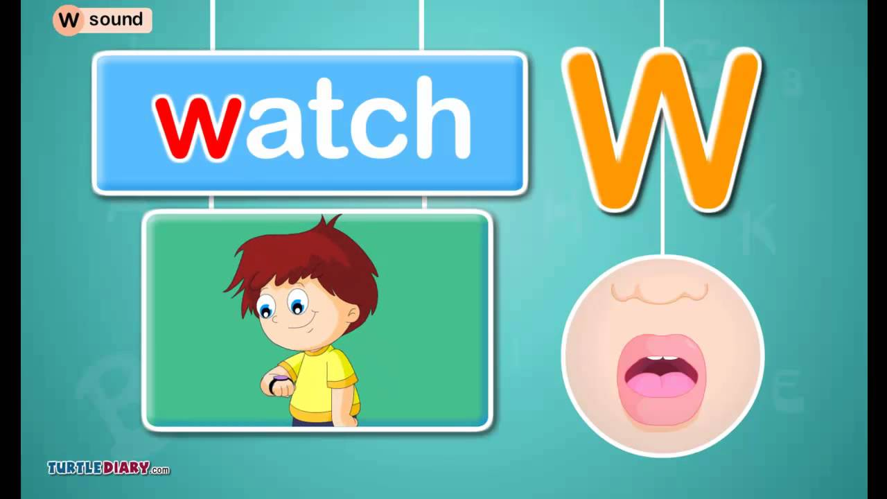 youtube letter sounds letter w sound phonics by turtlediary 12069 | maxresdefault