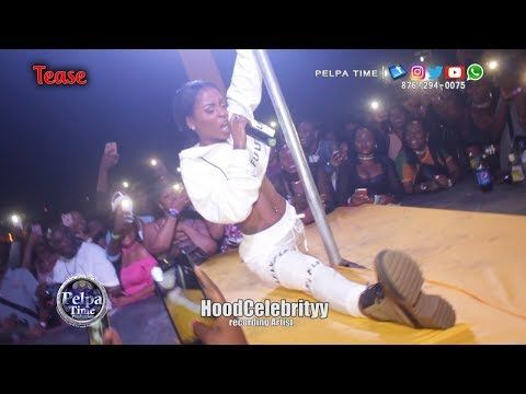 HoodCelebrityy Performance AT Tease first Time in Jamaica