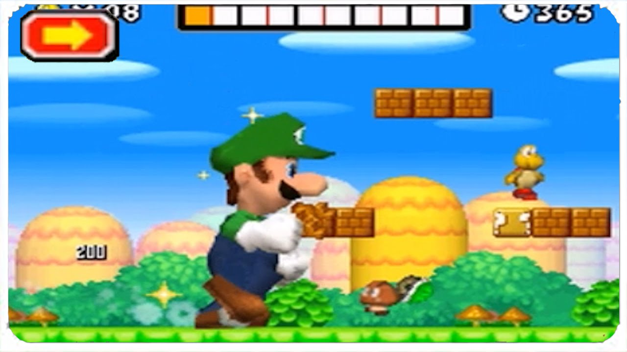 New Super Mario Bros  DS - 100% Walkthrough Part 10 - Luigi & Challenge Mode