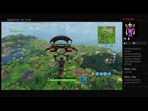 The worst Fortnite Battle Royal gameplay EVER