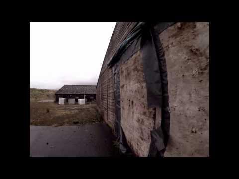 abandoned chicken factory in central scotland walk round untouched gopro hero 4