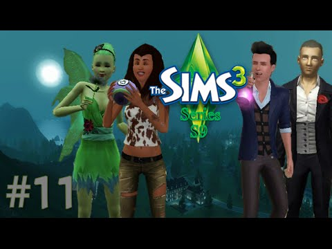"""The Sims 3 Series (S9) Part11 """"Eclipse Fog and New Moon Night"""""""