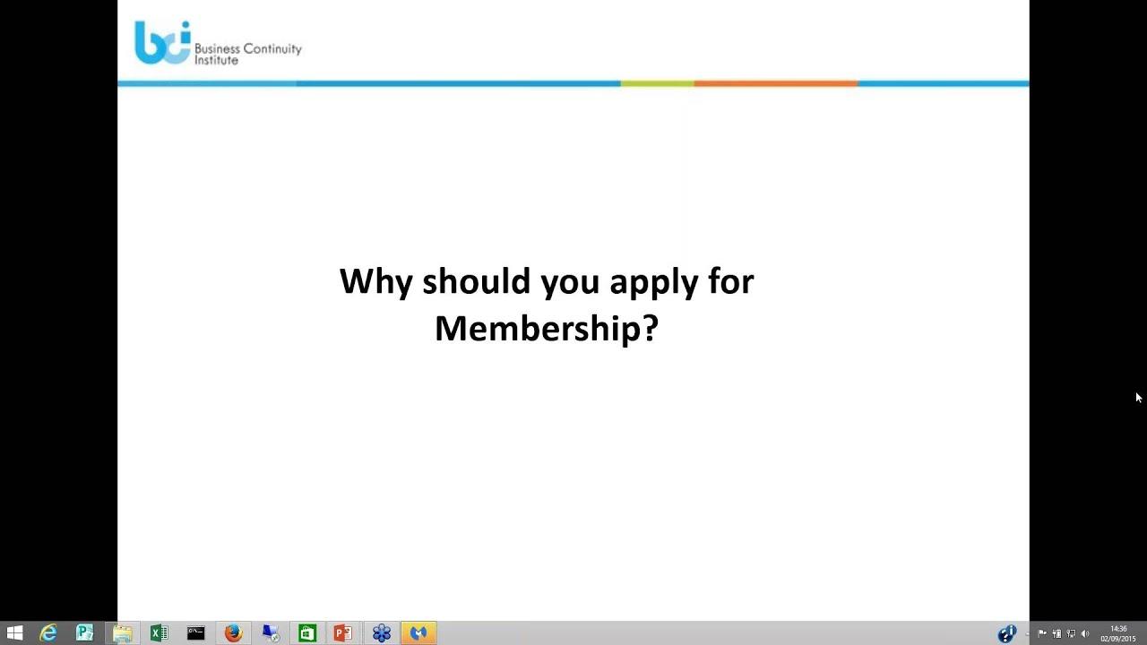 Business continuity institute membership webinar youtube business continuity institute membership webinar xflitez Choice Image