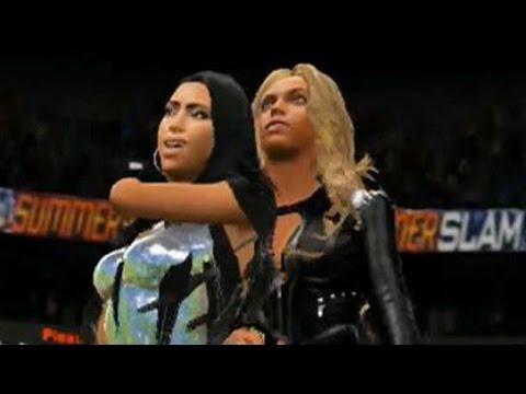 WWE 2K17 - Beyonce Vs. Kim Kardashian