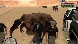 Matando monstruos(Misterix-mod) Gta san andreas 1 parte.