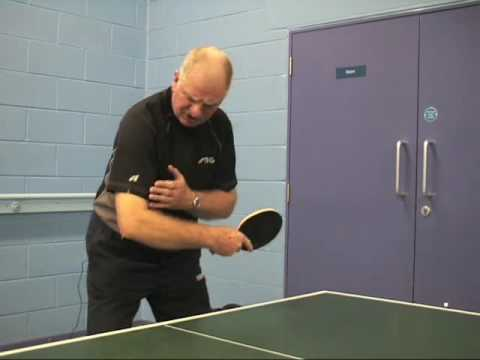 How To Play A Table Tennis Backhand Drive Stage 3 Wrist