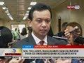 BT: Sen. Trillanes, maglalabas daw ng waiver para sa sinasabing bank accounts niya