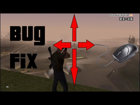 GTA San Andreas - Mouse Vertical Sensitivity Fix - CLEO // Read description