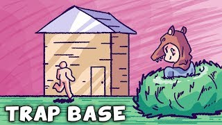 RUST   THE TRAP BASE That BATTLES And WINS over EVERYONE !!!