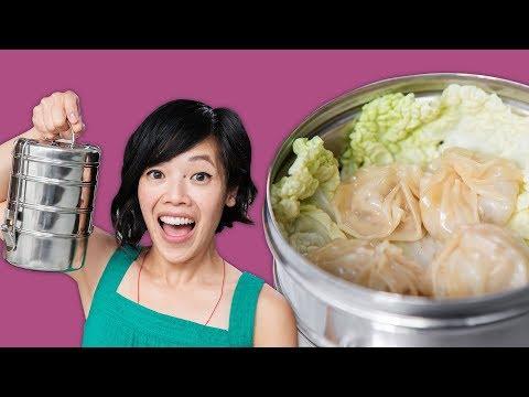 Frying Pan Soup Dumplings for Back to School!