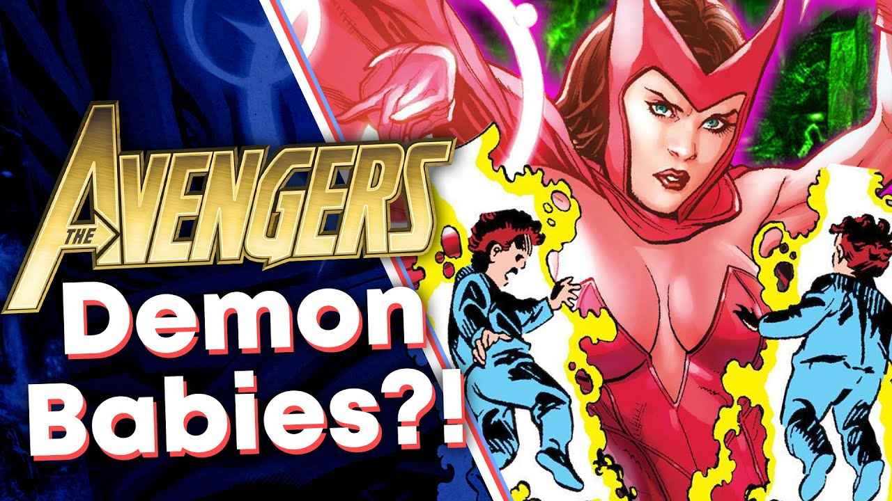 Scarlet Witch's Babies are DEMONS?! [WandaVision]