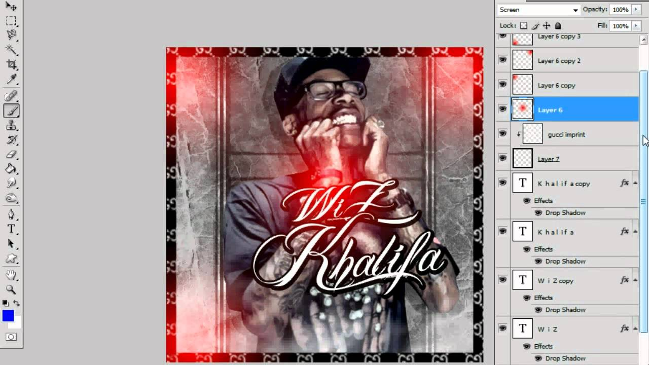 Free Wiz Khalifa Mixtape Cover Psd File See Descriptions For Details Youtube