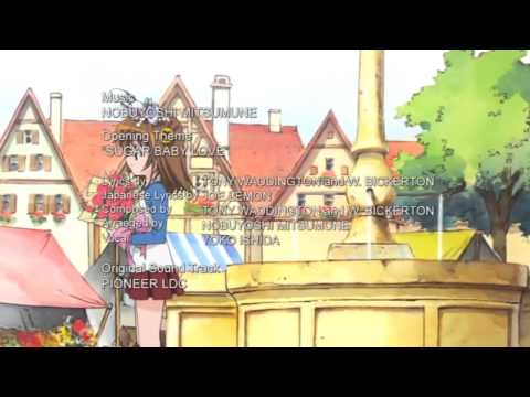 Sugar Baby Love 石田燿子 ちっちゃな雪使いシュガーOP full 720p HD [AMV]