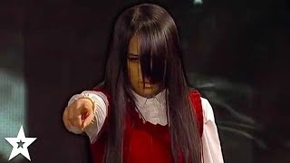 SCARIEST AUDITION EVER! Ghost Terrifies Judges on Asia