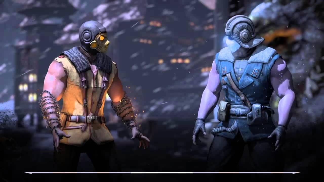 Mortal Kombat X: (Ep. 15) Ermac vs Reptile | Scorpion vs ...