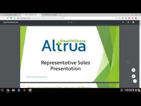 Altrua Health Sharing