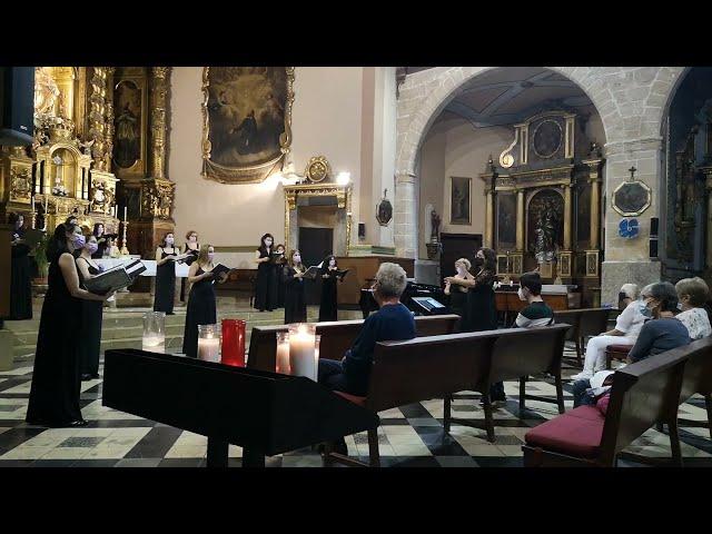 Ave vivens hostia, de J. G. Rheinberger. VokalArs. Dir.: Nuria Fernández. Pianista: Teresa Vilaplana