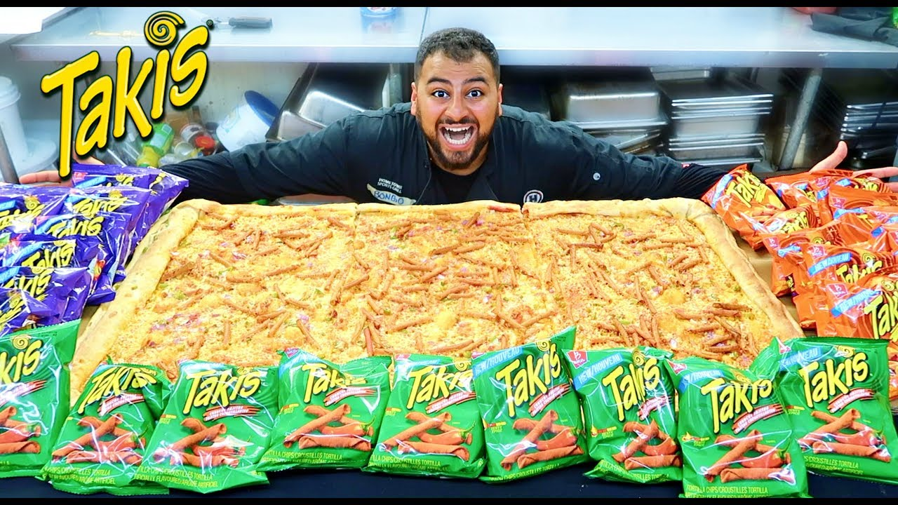 how to make giant takis