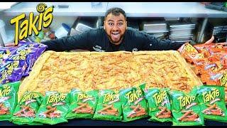 DIY GIANT TAKIS PIZZA!!