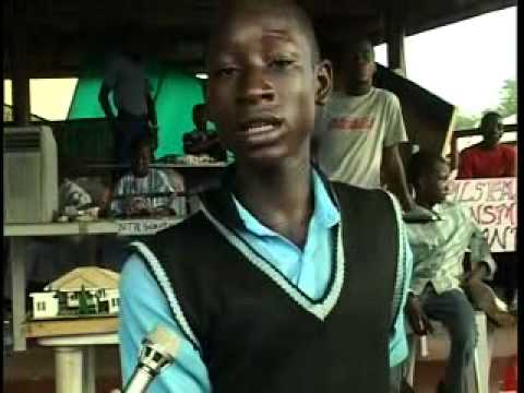 Young Inventors: Young Nigerian Invents Power Generation By Wind, Periscope