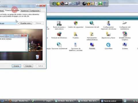 Como poner tu nombre en el protector de pantalla en 3d - Protector de escritorio ...