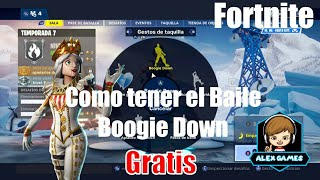 How to get for free the Boogie Down dance from Fortnite..! Read Description!!!