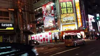 日曜日の大阪難波『なんさん通り』