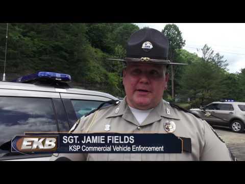 KSP Commercial Vehicle Enforcement Roadcheck