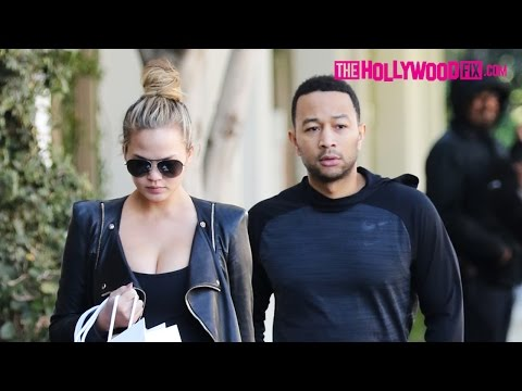 John Legend & Chrissy Teigen Go Off On A Valet Attendant For Tipping Off Paparazzi 12.14.15