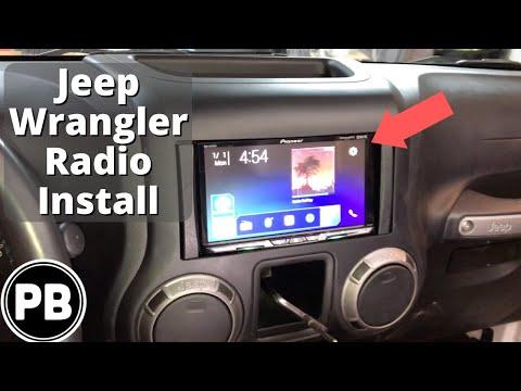 2007 - 2018 Jeep Wrangler JKU Radio Install