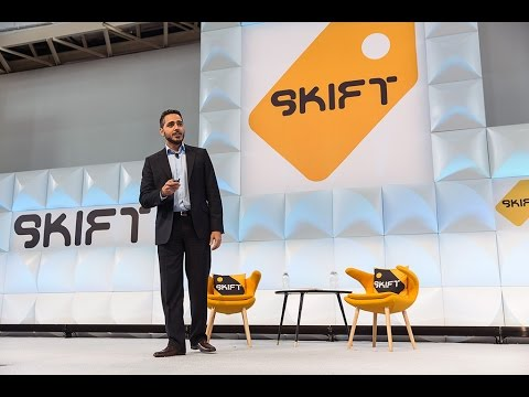 Dubai Tourism CEO Issam Kazim at Skift Global Forum