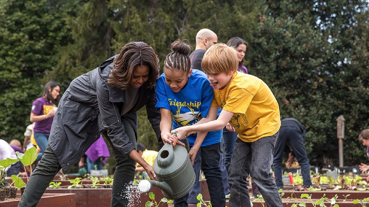 The 6th Annual White House Kitchen Garden Planting