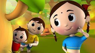 Akkad Bakkad Bambe Bo Hindi Rhymes - Hindi Animierte Kinderreime | अक्कड़ बक्कड़ | Jo Jo Kids