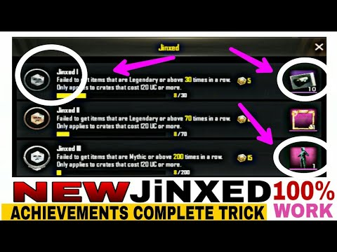 NEW ACHIEVEMENTS COMPLETE SEASON 6 HOW TO COMPLETE JINXED ACHIEVEMENT MISSION IN PUBG MOBILE TRICKS