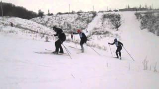 Лыжня России 2015год. г.Лебедянь