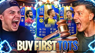 HARDCORE TOTS BUY FIRST GUY EDITION | FIFA 19