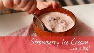 How To Make Ice Cream In A Bag Recipe Video