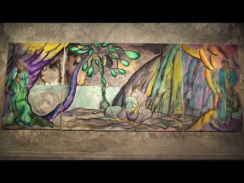 Chris Ofili: Weaving Magic at The National Gallery